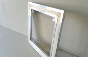 Aluminium stretcher frame