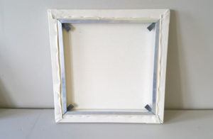 Aluminium stretcher frame stretched canvas