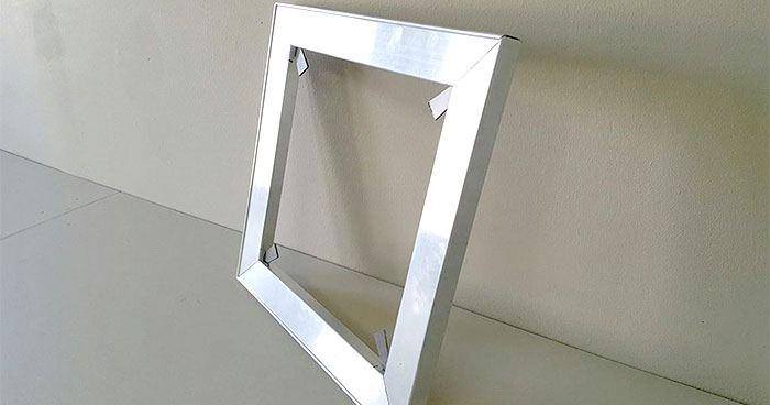 Alluminium stretcher frame
