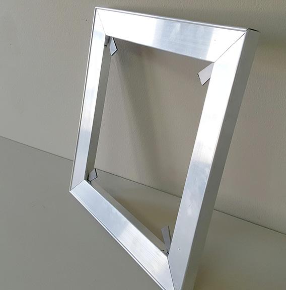 Aluminium stretcher frames