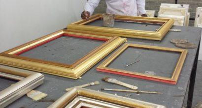 custom gilded frames