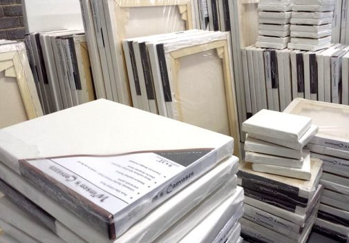 stock canvases