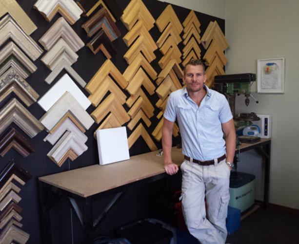 Gavin Van Winsen at his Midrand office